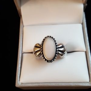 Jewelry - Beautiful sterling ring size 7.5
